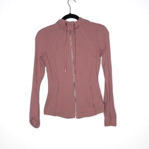 Lululemon Size 6 Pink Nulu Hooded Define Jacket